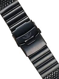 black mesh bracelet images Squale 22mm deluxe black pvd mesh bracelet 2002 mesh pvd 22mm jpg