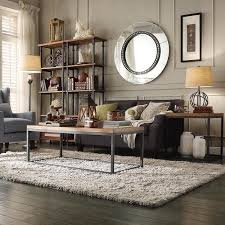 Charming Decoration Rustic Industrial Living Room Vibrant