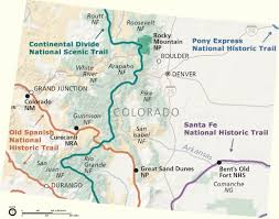 National Parks In Colorado Map by Forest Service Recreation