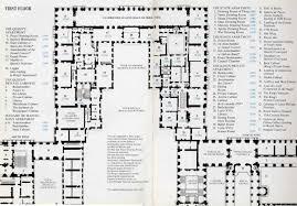 palace of versailles floor plan map of chateau de versailles