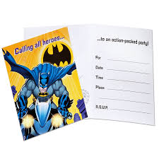 tremendous spiderman and batman party invitations birthday party
