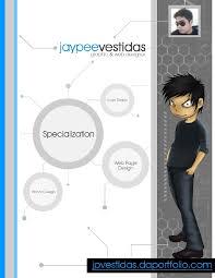 Graphic And Web Designer Resume Jaypee Vestidas Web And Graphic Designer Resume