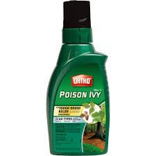 ortho max poison ivy u0026 tough brush killer concentrate 32 oz