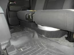 chevy colorado speaker box under seat on chevy images tractor