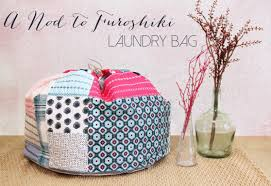 Dirty Laundry Hamper by A Nod To Furoshiki Laundry Bag Weallsew