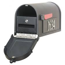 Wall Mount Locking Mailbox Home Depot Cool Home Depot Mail Boxes On Mailbox Post Combos Gibraltar