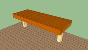 Wood Bench Designs Decks by Floating Deck Plans Free Howtospecialist How To Build Step By