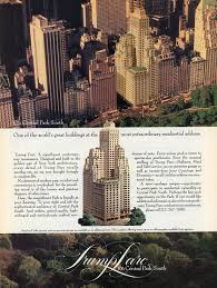 Trump Towers Address Vintage Trump Ads Say A Lot About The President