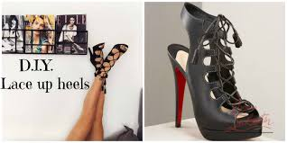 diy how to make your own jimmy choo christian louboutin kind of