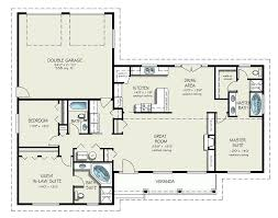 one floor home plans lovely home plans without garage decor 3 bedroom house plan with
