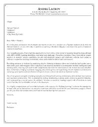 Sample Resume Cover Letter For Teachers Writing A Cover Letter For A Teaching Job Nardellidesign Com