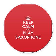 keep calm play saxophone car magnet keep calm play saxophone