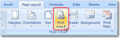 printable area change excel faqs conga support