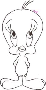 drawing tweety bird tweety bird drawings draw baby