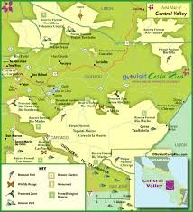 map central central valley map costa rica go visit costa rica