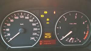 warning lights on bmw 1 series dashboard bmw 1 series warning lights