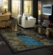 nfl camo sports team rugs floor mats