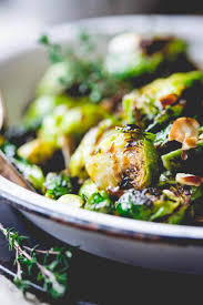 brussel sprouts thanksgiving recipe roasted brussels sprouts with balsamic and thyme healthy