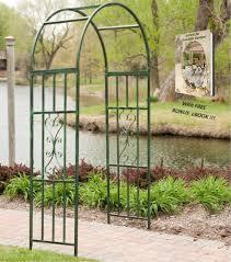 amazon com garden arch outdoor and wedding decoration metal