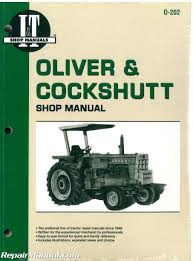 oliver tractor manuals repair manuals online