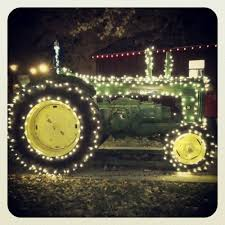 John Deere Outdoor Christmas Decorations christmas on the farm haha love this country christmas