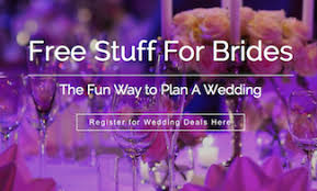 stuff to register for wedding free stuff for brides the way to plan a wedding