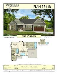 plan 1744r the jordan house plans ranch house plan greater