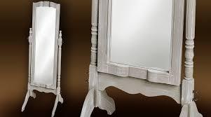 miroir de chambre sur pied grand miroir sur pied psyché gris poivré