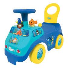 toddler ride on car kiddieland light n u0027 sound activity dory u0027s ride on kid toy car blue