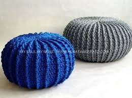 knitted pouf ottoman target pouf footstool studiiburse info