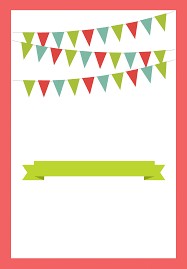Printable Party Invitation Cards Red Pennants Free Printable Bbq Party Invitation Template