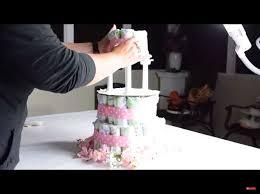 baby diaper cake hometalk