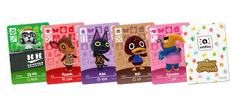 Animal Crossing Amiibo Cards Lists U0026 Information Animal Crossing