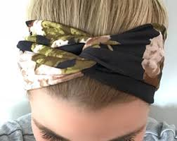 hairstyles with headbands foe mature women headbands for women etsy