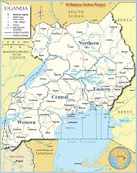 Map Of Uganda In Africa by Uganda U2013 Recp