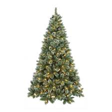 shop now for 7ft pre lit snow glitter tree at www tjhughes co uk