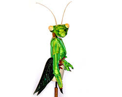 praying mantis insect costume fly bug masquerade mask wings