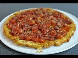pizza hervé cuisine recette géniale de la tarte tatin à la tomate cerise