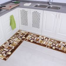 kchen tapeten modern aliexpress buy 3 anti slip kitchen mat bath