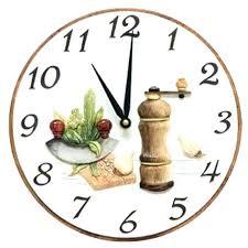 horloge cuisine pendule moderne cuisine pendule de cuisine affordable pendule