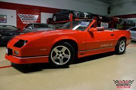 iroc z28 camaro for sale 1990 chevrolet camaro iroc z convertible stock m5364 for sale