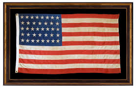 Flag With Cross And Stripes Jeff Bridgman Antique Flags And Painted Furniture Unusual
