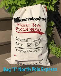 personalized santa sack personalized santa sack bag
