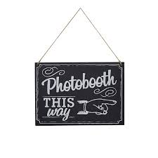 photo booth sign vintage style chalkboard photo booth sign by