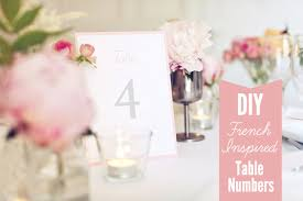 free table number templates the little canopy artsy weddings indie weddings vintage weddings