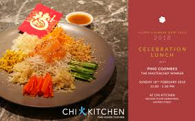 cuisine kitchen year celebration lunch with ping coombes chi kitchen