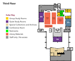 floor plans colorado mesa university map of tomlinson library 3rd floor