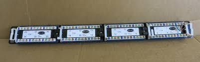 24 port cat5e rj45 ethernet network patch panel t568a u0026b wiring