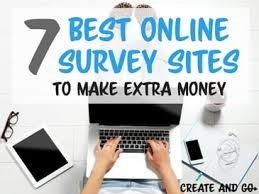 Money Making Online Surveys - 7 best online survey sites to make extra money create and go
