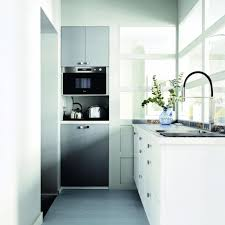 kitchen gorgeous track lighting and glossy white cabinet in